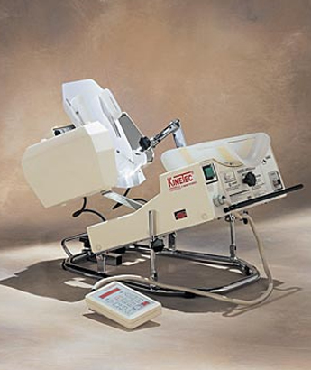 Kinetec 5190 Ankle CPM Machine available at Rapid Recovery in Anchorage, Alaska
