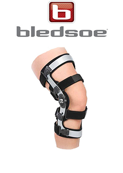 About Rapid Recovery: bledsoe brand knee brace