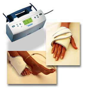A-V Impulse System Foot Pump and Hand Cover